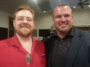 Me & Nik Clark at the 2nd Amendment Event